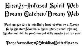 dream catcher label